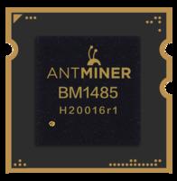 Чип на Antminer L3+ BM1485