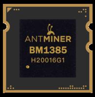 Чип на Antminer S7 BM1385E