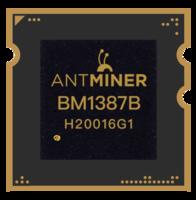 Чип на Antminer S9 BM1387B