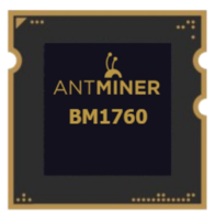 Чип на Antminer D3 BM1760