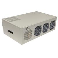 GPU ферма на 8 видеокарт GTX P104-100